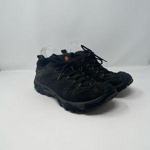 Merrell Black Night Suede Hiking Sneaker Mens 10.5